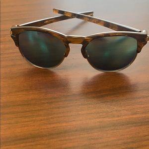 Oakley Women's Latch Key Sapphire Polarized Lens